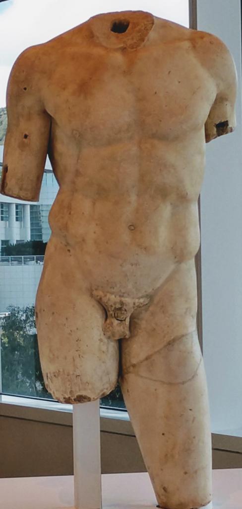 male statue, holistic training program | Shawn Phillips Personal Trainer